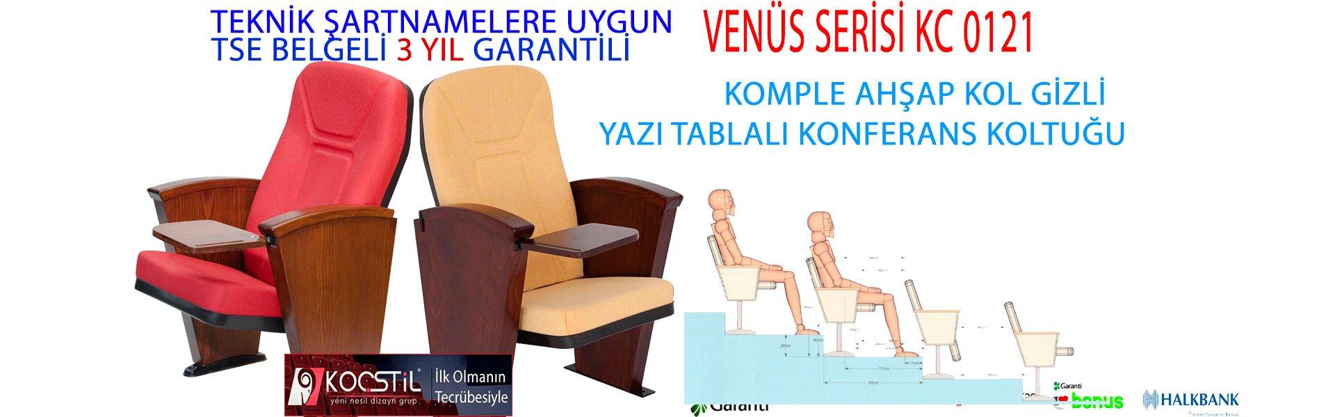 KOMPLE AHŞAP KOL GİZLİ YAZI TABLALI KONFERANS KOLTUĞU