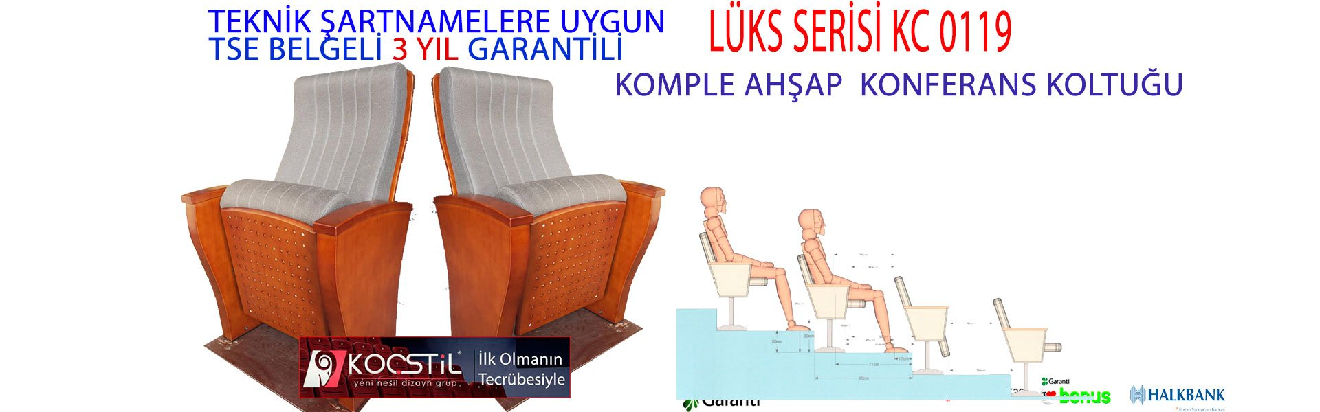LÜKS SİNEMA VE KONFERANS KOLTUĞU