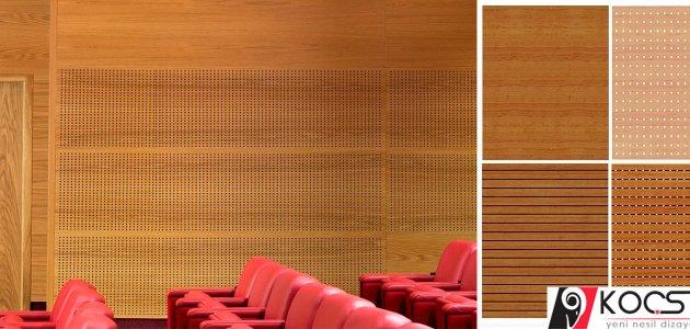 akustik mdf panel