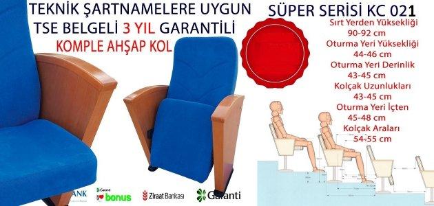 KOMPLE AHŞAP KOL KATLANIR KONFERANS KOLTUĞU