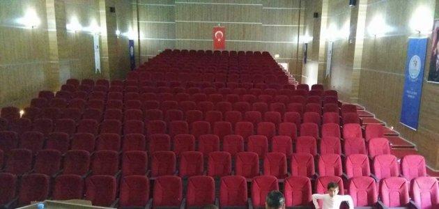 Mardin kasimiye erkek yurdu konferans salonu
